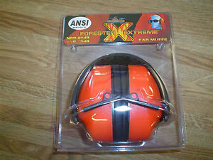 New Forester Extreme Ear Protection Nrr 29db Chainsaw Gun Range Constuction