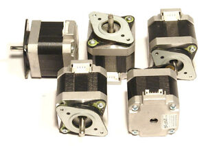 5 Nema 17 Shinano kenshi Stepper Motors 60 8 Oz in Robot Reprap Makerbot Prusa