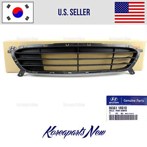 Grille Front Bumper Lower Genuine 865611r010 Fits Hyundai Accent 2012 2017