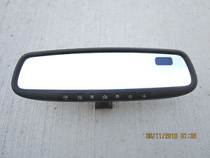 07 11 Nissan Altima Rearview Rear View Mirror Auto Dim Compass Home Link Oem