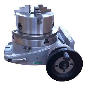 The Adapter And 3 Jaw Chuck For Mounting On A 10 Rotary Table