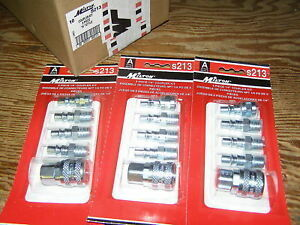 Milton A Style 775 778 777 Air Hose Coupler Nipple Kit 15pc Usa Fs