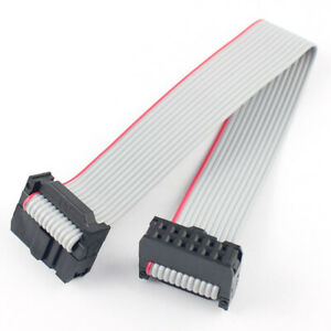 500pcs 2 54mm Pitch 2x6 Pin 12 Pin 12 Wire Idc Flat Ribbon Cable Length 15cm