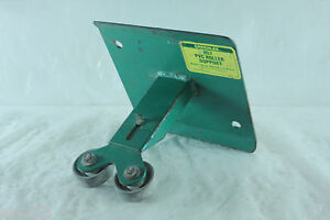 Greenlee No 857 Pvc Roller Support