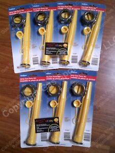 7 pk Scepter Gas Can Spouts Vent Kit Moeller Midwest American Igloo Eagle Reda
