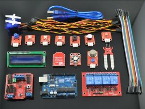 Smart Home Learning Android Bluetooth Arduino Uno R3 Compatible Xbee Lcd1602 Kit