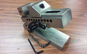 5 Precision Sine Vise 3 w x4 1 2 h x8 1 2 l part Sine v5 New