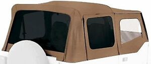 Replacement Soft Top Upper Skins Spice 1988 1995 For Jeep Wrangler Yj