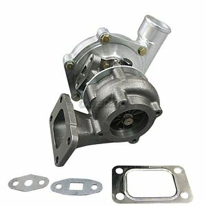 Ceramic Ball Bearing T3 Turbo Charger 0 63 0 60 A R Fast Spool Twin Setup