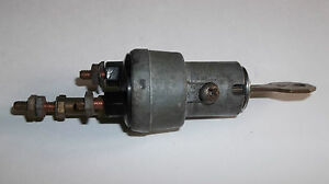 1941 Chrysler Ignition Switch With Key Original Oem G M Delco Remy