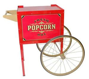 Street Vendor Popcorn Machine Trolley Cart Only