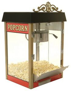 Popcorn Machine 8 Oz Street Vendor Antique Style