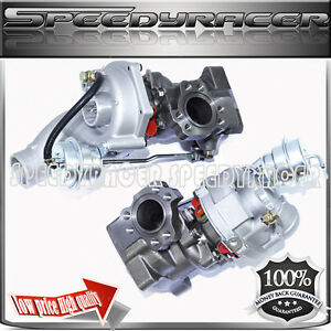 Twin Turbo Charger For 01 05 Audi Allroad S4 A6 2 7t