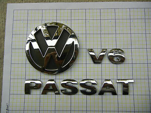 Volkswagen Passat V6 Trunk Emblem Badge Logo Oem Factory Genuine Stock