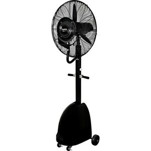 Commercial 26 High velocity Outdoor Misting Fan Black Industrial Utility Cool