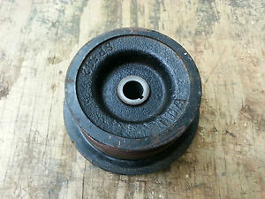 Military Dodge Weapons Carrier Ww2 6v Generator Cast Type Pulley Nos G502 G507