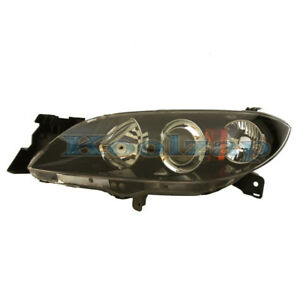 04 09 Mazda 3 Sedan 4 Door Headlight Headlamp Head Light Lamp Left Driver Side