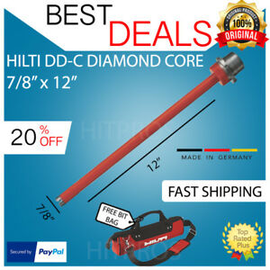 Hilti Diamond Core Bit Dd c 7 8 X 12 T4 Brand New Fast Shipping