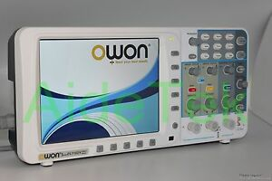 Newest Low noise Owon 100mhz Oscilloscope Sds7102v Fft Lan vga 3yrs Warranty