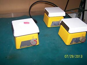 Cirmarec Barnstead Thermolyne S46415 Magnetic Stirrer Top 4 5 X 4 5