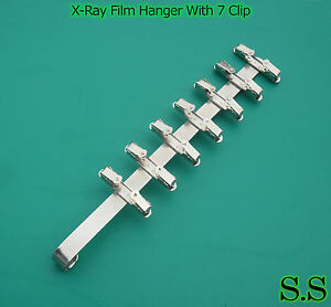 3 Pieces Dental X ray Film Hanger With 7 Clip dental Supply