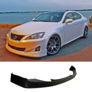 Vs Pu Poly Urethane Front Bumper Lip Body Kit Fit 11 13 Lexus Is250 Is350