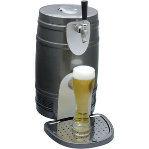 Compact 5 Liter Mini Kegerator Cooler Pressurized Or Gravity Beer Draft Fridge
