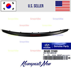 Front Bumper Grille Lower Trim 865802v500 Genuinefits Veloster Turbo 2013 2017