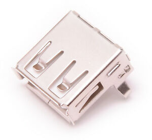 2pcs Usb Type A Female Right Angle Port Connector Socket Pcb Replacement Usa