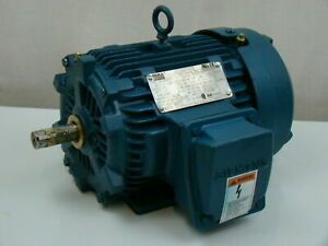 Siemens 1 5 Hp 460v Electric Motor 1la014423341