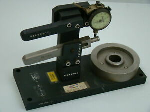 Machinist Tool Checking Dial Indicator Jig