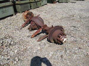 Rockwell C103 Rear Axle Assembly 5 29 Ratio 10 Lug Disc Brakes Used