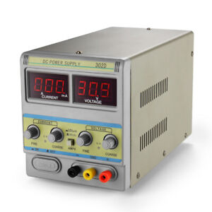 30v 2a Dc Power Supply Adjustable Variable Regulated Precision Digital Display