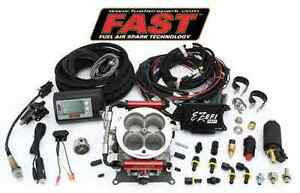 Fast Universal Throttle Body Tbi Ez Efi Fuel Injection Kit Complete 30227 Kit