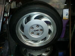 17inch 1992 Corvette Rims And Tires