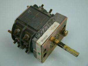 Electroswitch Type W 2 Rotary Switch 505a603601