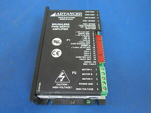 Advanced Motion Controls Brushless Pwm Servo Amplifier B12a6l