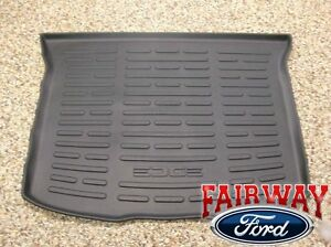 2011 Thru 2014 Edge Oem Ford Parts Black Cargo Area Protector Mat Liner W Logo