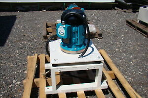 7 5hp 460v Motor Coupled To Parker Hydraulic Pump