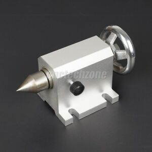 Cnc Tailstock Chuck 80mm For Rotary Axis A Axis 4th Axis Cnc Router Machine