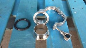 2 Inch Tri Clamp Set For Stainless Steel Kegs Or Barrels