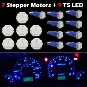 7 Stepper Motor X27 168 Speedometer Cluster Repair Kit 9 Led Bulb Blue For Gmc