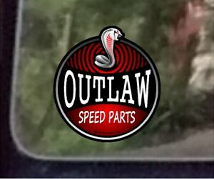 Prosticker 702 One 4 Hot Rod Outlaw Speed Parts Decal Sticker
