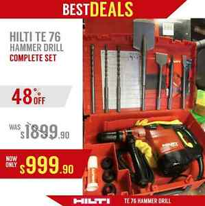 Hilti Te 76atc Hammer Drill 230 Volts Excellent Condition Free Bits