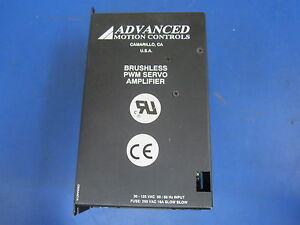 Brushless Pwm Servo Amplifier 30 125 Vac Fuse 250 Vac 16a Slow Blow Advanced