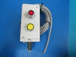 Fuji Electric 2 Button Panel Control Box Model Ahx912a