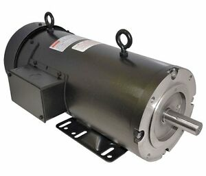 1 Hp 1750rpm 56c Frame 180 Volts Dc Dayton Electric Motor Model 4z378