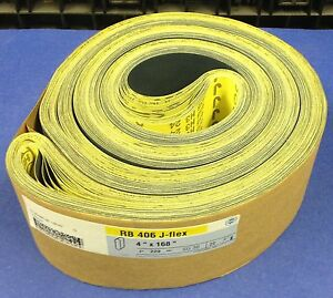 Hermes Rb 406 J flex Sanding Belts 4 X 168 P220 Lot Of 22 Belts