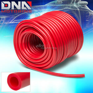 7mm 0 28 id Red High Temp Silicone Air Vacuum Hose line pipe tube By Foot feet