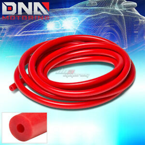 3mm 0 12 Id Red Full Silicone Air Vacuum Hose Line Pipe Tube By Foot Feet